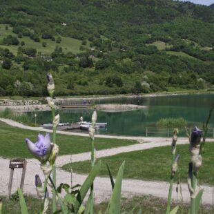 Lac de Barouchat parcours de pêche