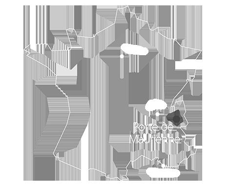 Carte Porte de Maurienne