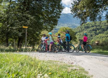 Vélo en famille - Photographe Alban Pernet