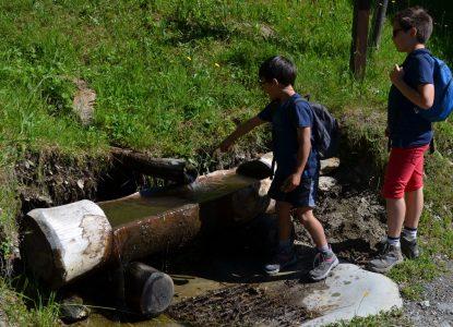 Montsapey, source d'eau