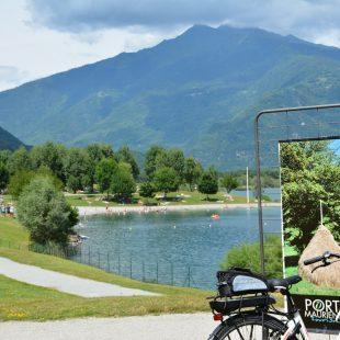 Vélo au Lac des Hurtières