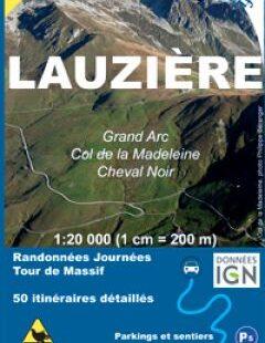 couverture Carte-Topo La Lauzière