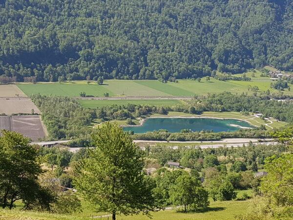 Lac de Barouchat depuis Aiton