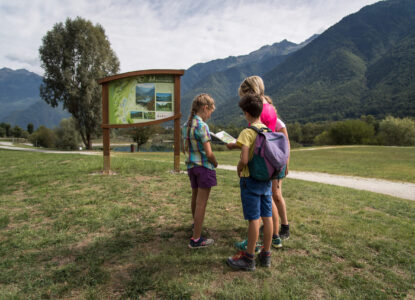 Sentier thématique Parcours Contes et légendes de l'eau à Saint Alban d'Hurtieres Photo Aban Pernet