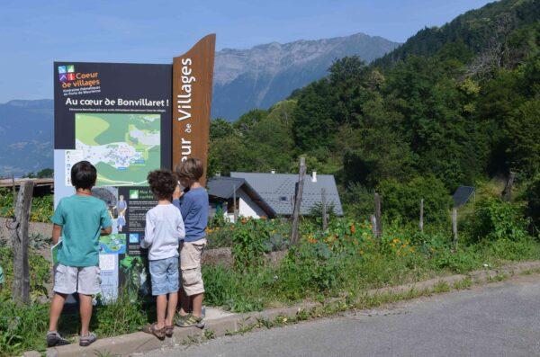 Itinéraires Coeur de Villages à Bonvillaret