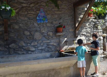 Parcours Contes et légendes de l'eau à Bonvillaret