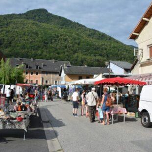 Marché d'Aiguebelle