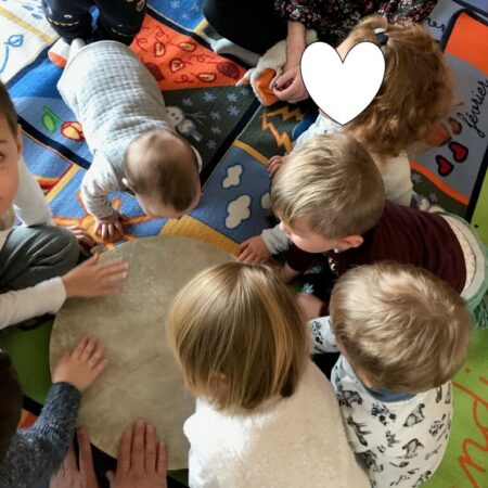 Activité du RAM avec les enfants