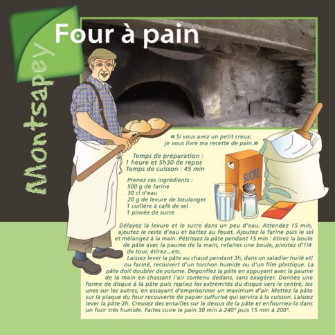 Four à pain Montsapey