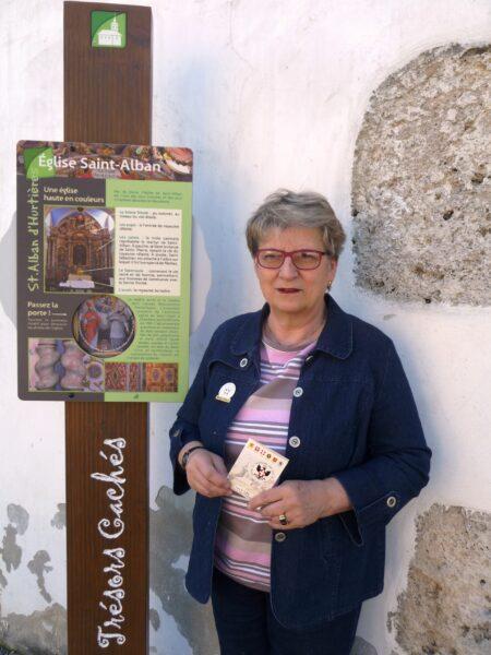 MOTIN Marie-Claire @GuidesGPPS à St Alban d'Hurtières