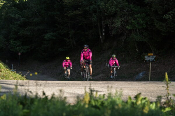 Vélo en Porte de Maurienne Photographe Alban Pernet