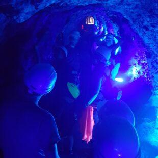 lumière bleue-Galerie Saint-Louis