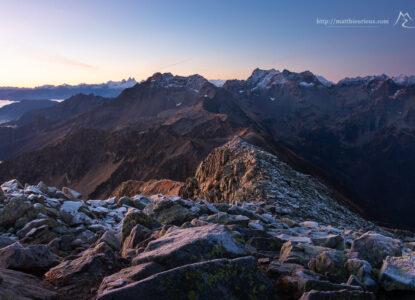 Massif de Belledonne Photographe : Mathieu Rieux