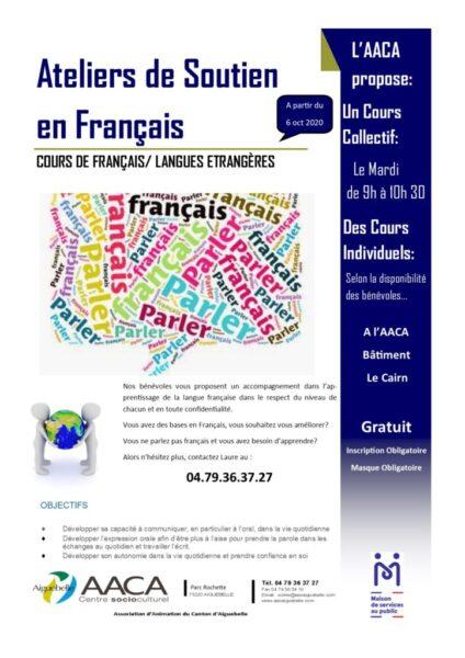 Ateliers AACA de français