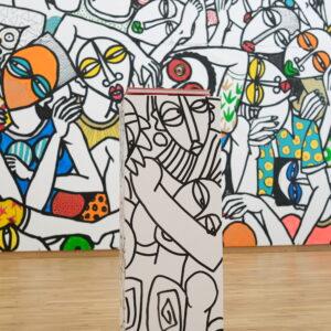 Boogie woogie in Cairn - fresque_©Manon Leroux