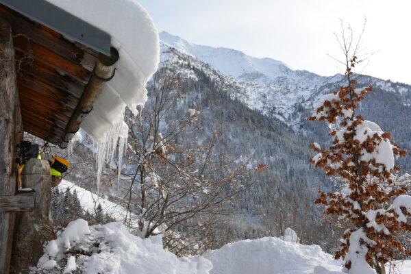 Montsapey l'hiver